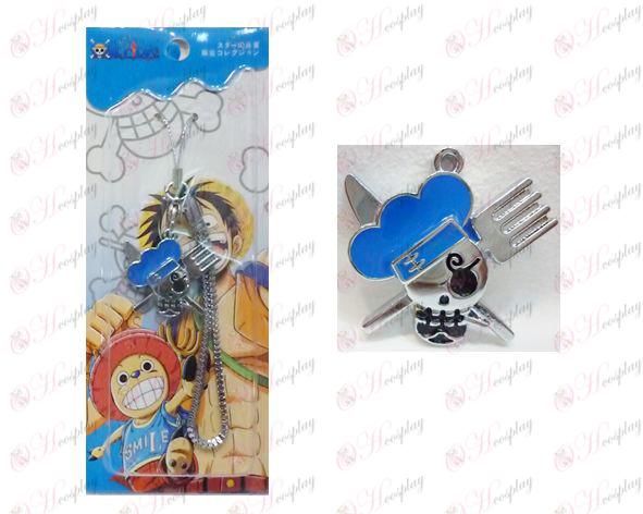 One Piece Accessori Due anni dopo Sanji logo Strap