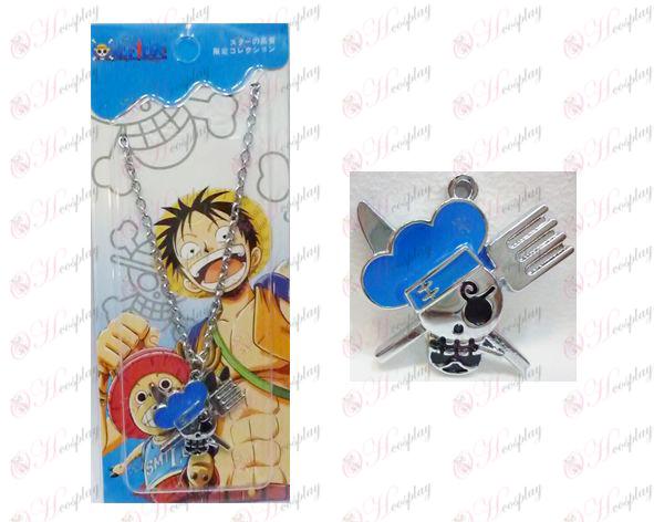 One Piece Tilbehør To år senere Sanji flag 0 word kæde