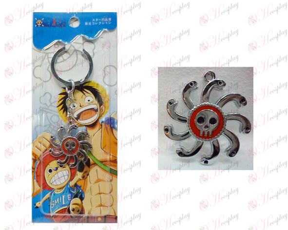 One Piece Accessories Two years later Empress logo keychain