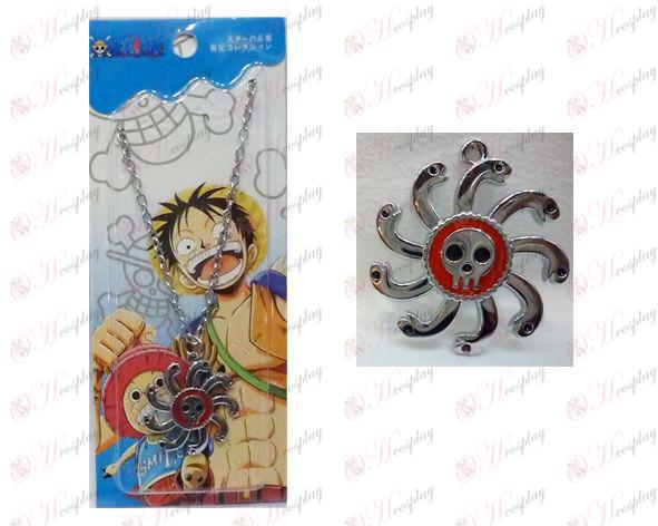 One Piece Tillbehör Två år senare kejsarinnan flagga 0 ordet kedja