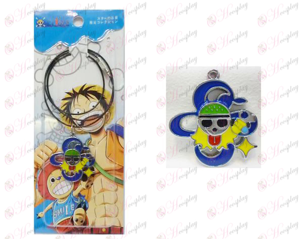 One Piece Accessories Nami two years after the flag wire chain