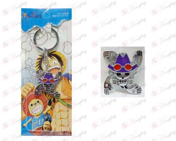 One Piece Accessories years Houluo Bin logo keychain