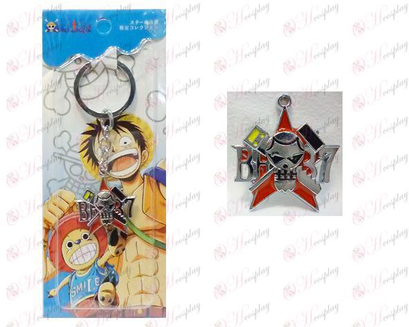 One Piece Accessoires ans trousseau logo Houfulanke