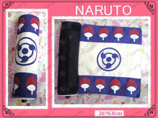 Naruto Sasuke scrivere Penna assiale rotondo (Blu)