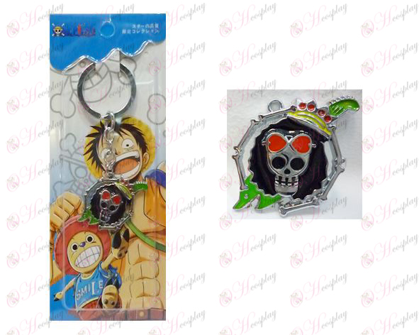 One Piece Accessories years Houbuluke logo keychain