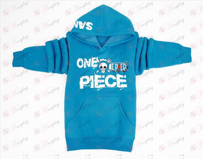 One Piece Tilbehør Sanji tyk trøje (M / XL)