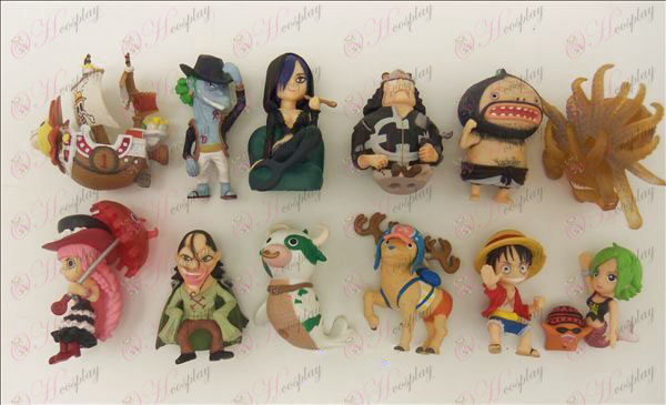 12 One Piece Accessories Doll