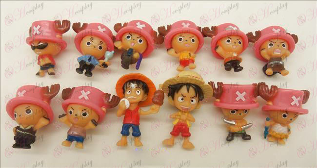 12 Chopper Luffy nukke