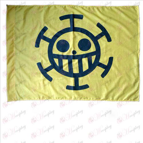 One Piece Acessórios ض  médicos bandeira de pirata B