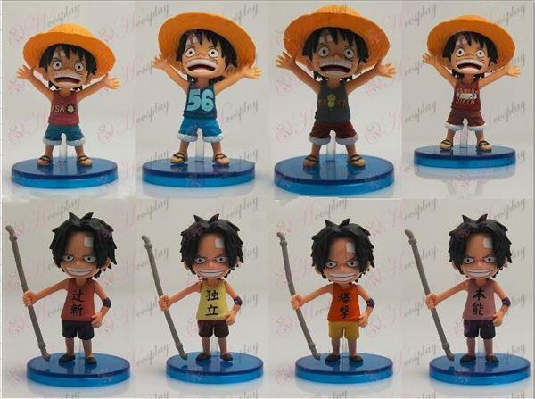 63 en representación de ocho One Piece Accesorios muñeca cuna