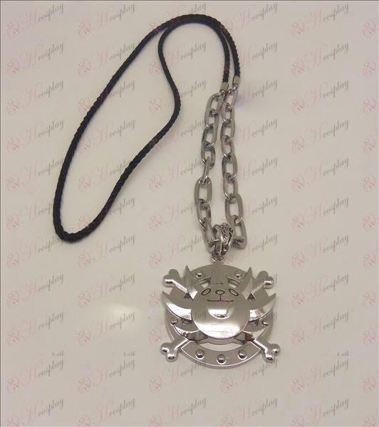Ferdig Piece Tilbehør Søn logo punk kjede (sølv)