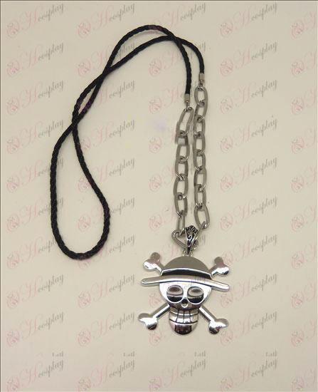 Kész Piece Kiegészítők logo punk hosszú nyaklánc (ezüst)