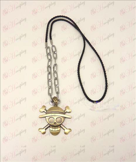 Fatto Pezzo Accessori logo punk lunga collana (bronzo)
