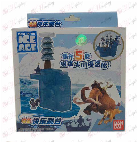 本物の氷河コルセア(02ハッピージャンプ)