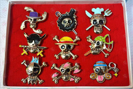 One Piece Accessoires9 modèles Broche