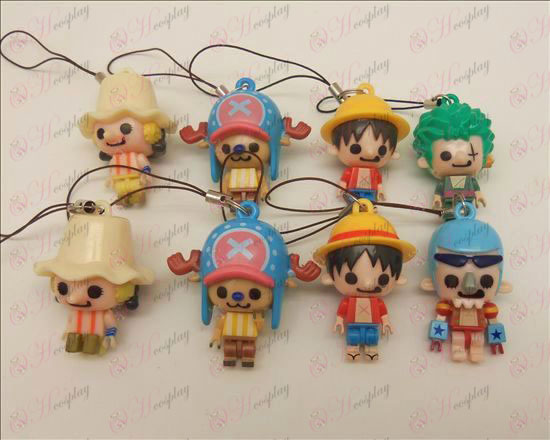 8 modelli One Piece Accessori Doll cinghia mobile (Sauron) mobile
