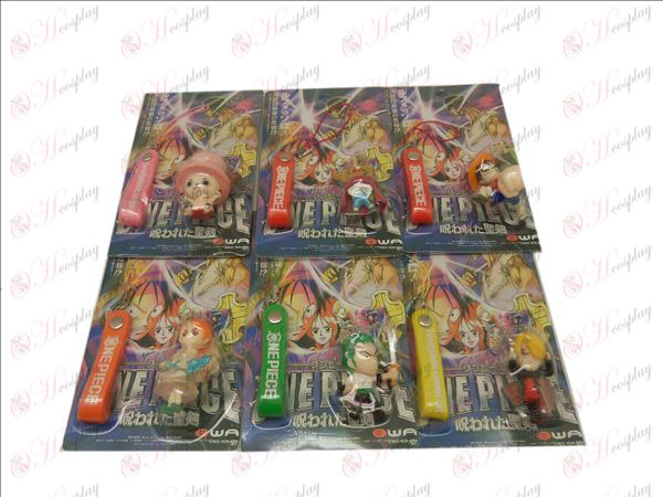 6 One Piece Accessories Doll Machine Rope (blister)