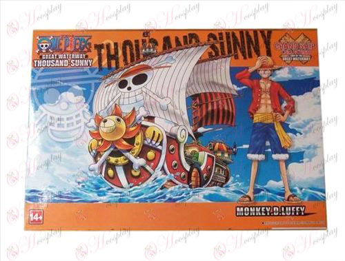 One Piece Accessories1 ships have assembled model (Sun Boat)