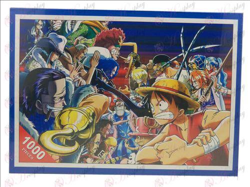 One Piece Tillbehör pussel 1372