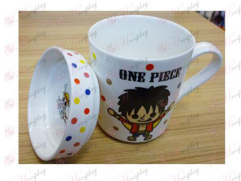 One Piece Accesorios posteriores vuelan dos nuevos taza de cerámica