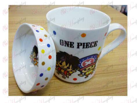 One Piece Zubehör Fliege und Joe hinteren zwei Keramik-Tassen