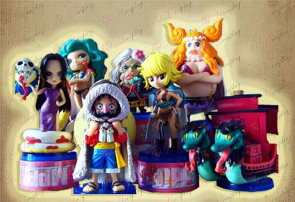 One Piece Accessories8 paragraaf 60 generaties (negen slang piraten papers) Box