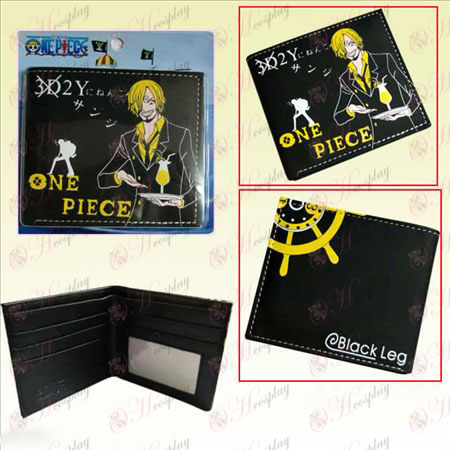 One Piece אבזרים Sanji ארנק קצר