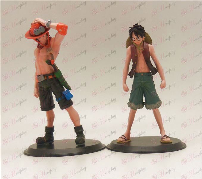 Luffy + Ace Doll