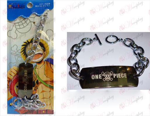 One Piece Príslušenstvo Big O slovo reťazca náramok
