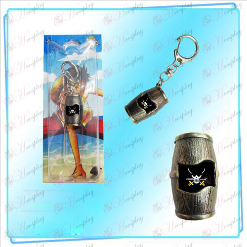 Luffy pirates barrels Keychain (Sauron)