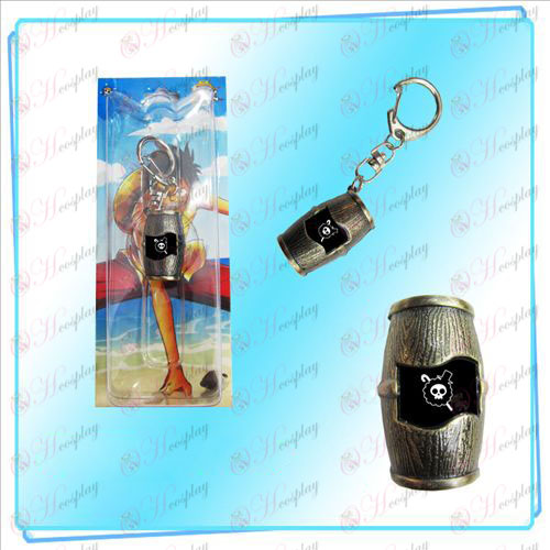 Luffy pirates barrels Keychain (Brooke)