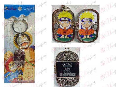 One Piece Accessories Photo Frame Keychain