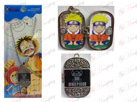 One Piece Accessories Photo Frame Necklace