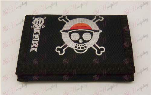 Canvas lommebok (One Piece tilbehør)