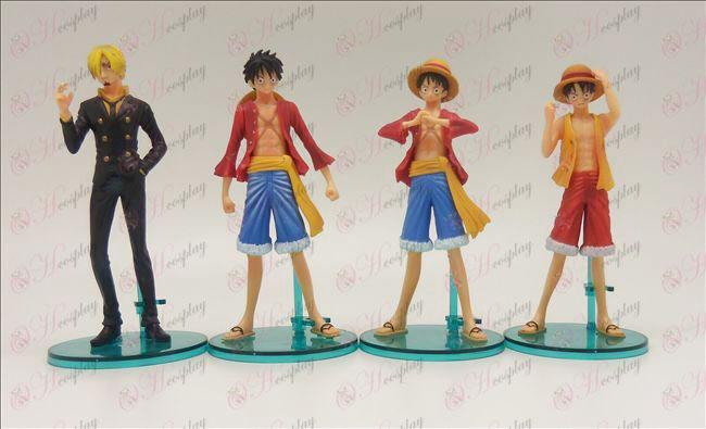 4 Modelle Genuine One Piece Zubehör Puppe Basis (14cm)