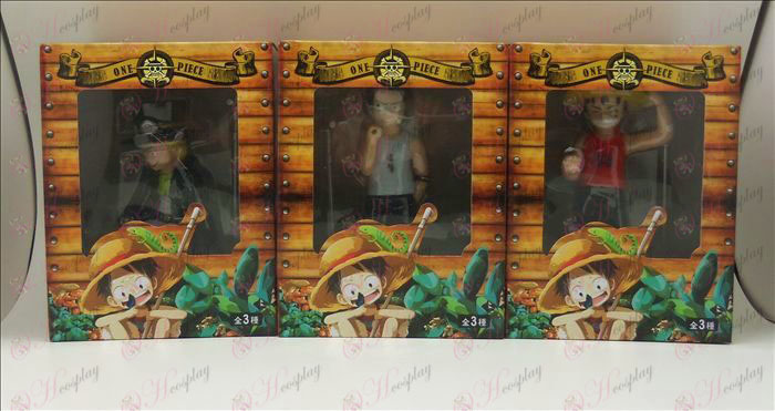 (3) One Piece Accessories doll cradle