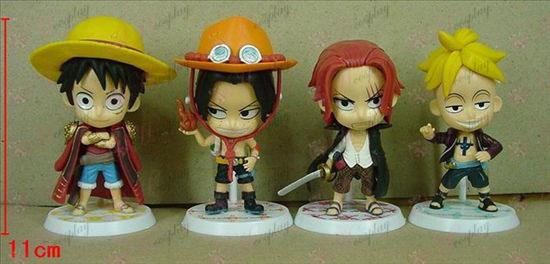 55 på uppdrag av fyra basmodeller One Piece Tillbehör