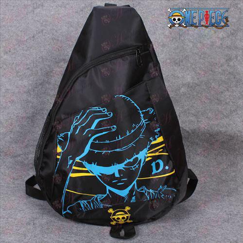 One Piece Accessories Luffy logo oxford cloth tote triangle