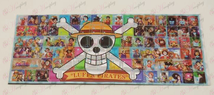 Billentyűzet matrica PVC (One Piece Kiegészítők