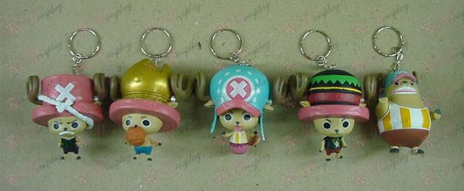 54 pirates on behalf of five models Keychain
