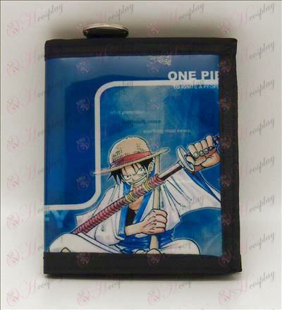 Luffy PVC wallet (sword)