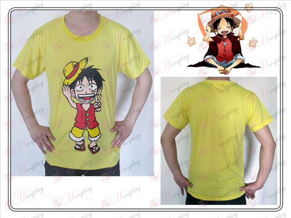 One Piece oprema Luffy majica (rumena)