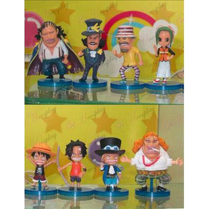 56 im Namen von acht One Piece Zubehör Puppe Basis (boxed)