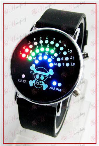 Pisane korejski fan LED ure - One Piece dodatki