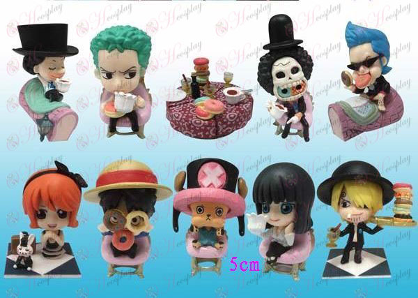 9 Pirates figure dinner doll (no box)