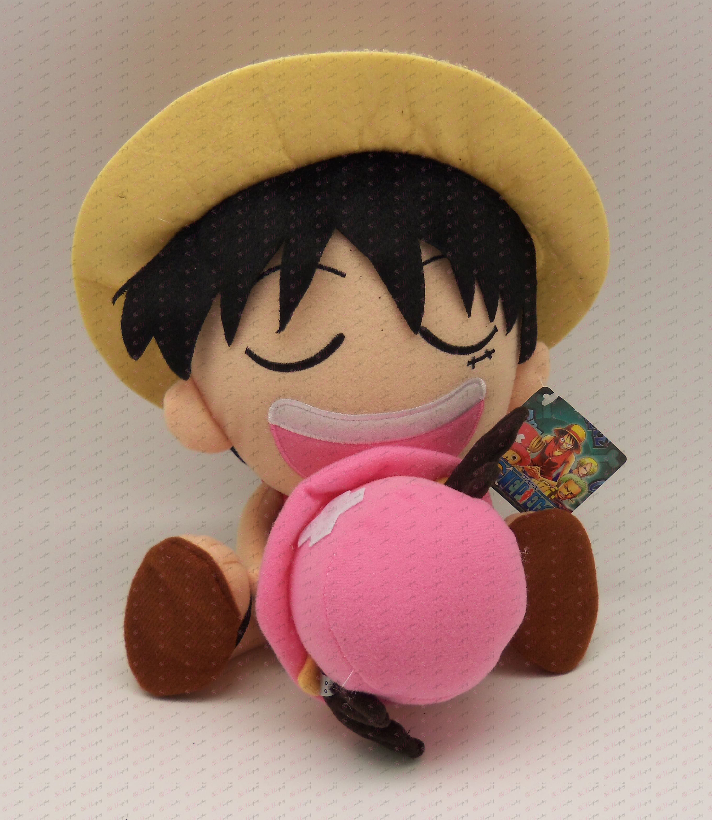 Luffy Chopper plysch hold
