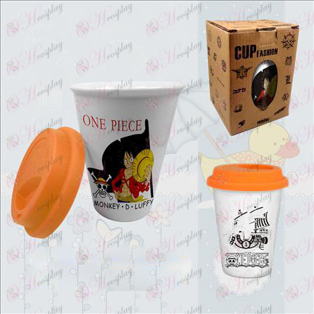 Doppelte Farbe Keramik-Tassen (Luffy)