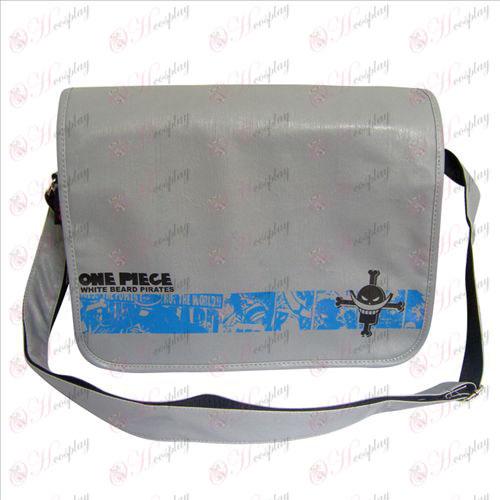 32-129 메신저 가방 원피스 액세서리 흰 수염