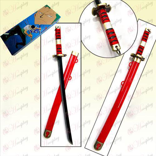 One Piece Accessories generations ghost Toru boxed steel sheath knife 30CM