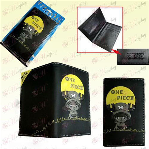 One Piece Accessories Chopper in the long wallet